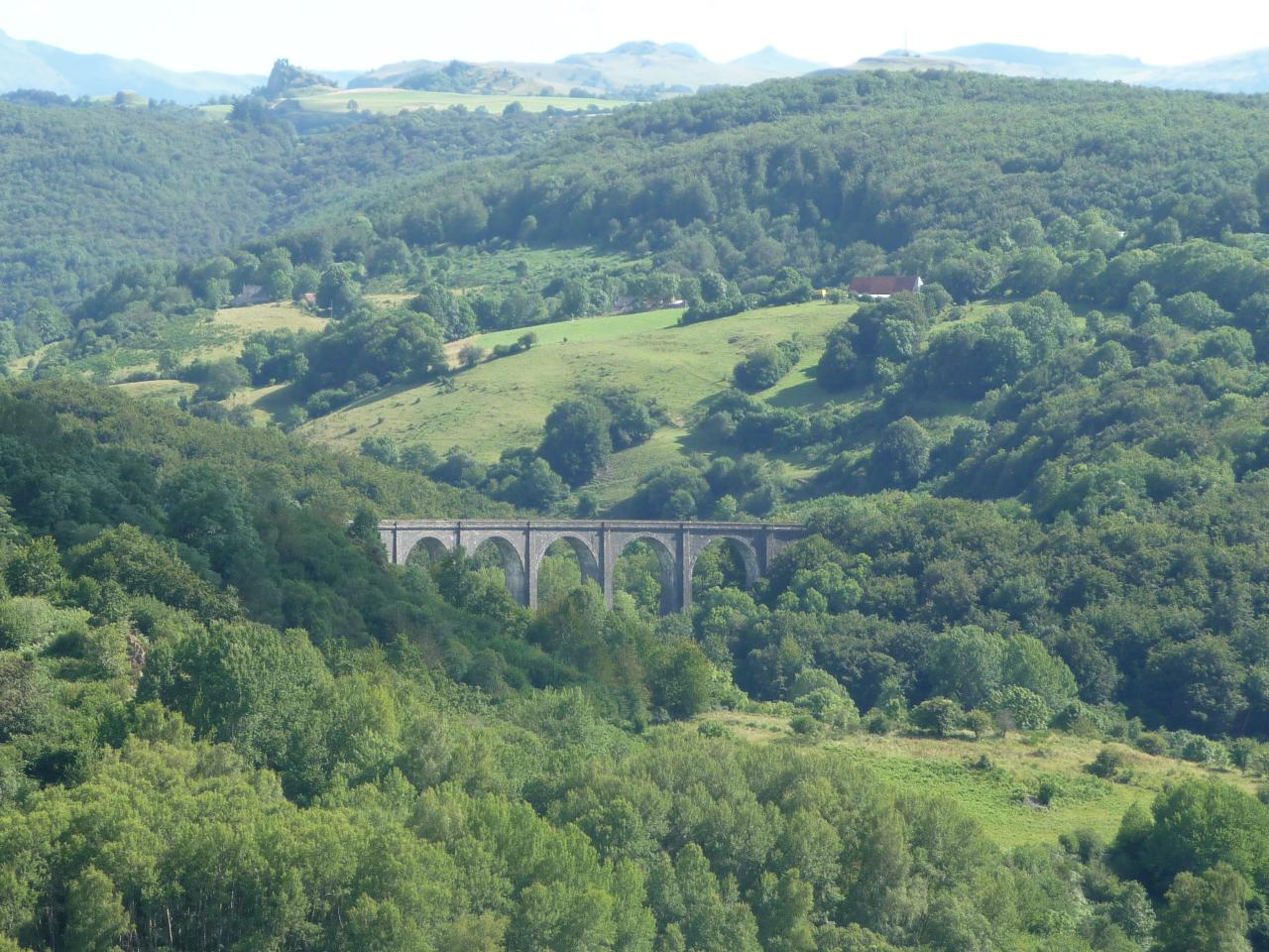 Viaduc de Barajol vu du Train Gentiane